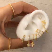 Load image into Gallery viewer, Classic mini huggie gold earring plain
