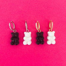 Load image into Gallery viewer, GUMMY BEAR EARRING BW