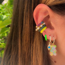 Load image into Gallery viewer, Gummy bear earring pastel
