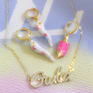 Personalized deluxe handwriting necklace