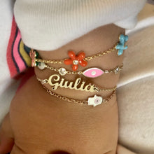 Load image into Gallery viewer, Kids Personalized name bracelet plain