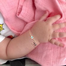 Load image into Gallery viewer, GIULIA BABY & KIDS EYE BRACELET