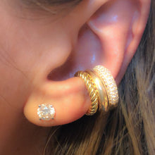 Load image into Gallery viewer, Earcuff maxi pave'