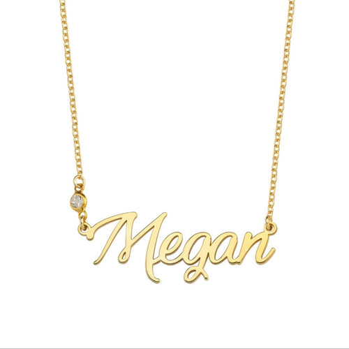 CUSTOMIZED NAME NECKLACE BLING