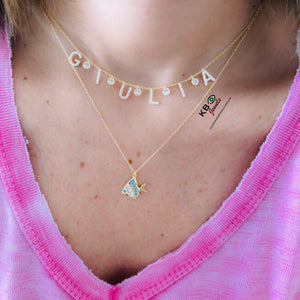 CUSTOMIZED NAME NECKLACE DIAM