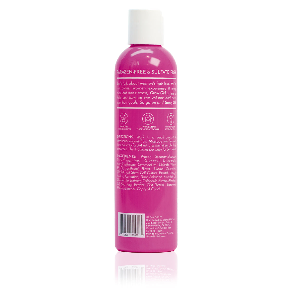Hair Growth Conditioner (2-Mo Supply) - Grow Girl Hair