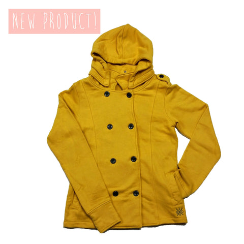 Pea Coat (Ladies) Mustard