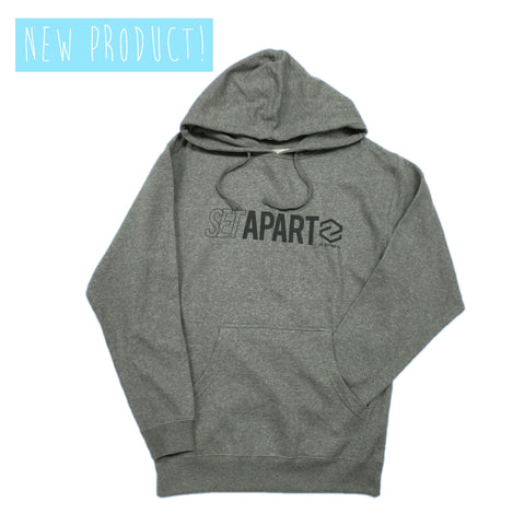 Set Apart Hoody Gunmetal Heather