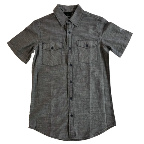 Zoe Chambray Button Up