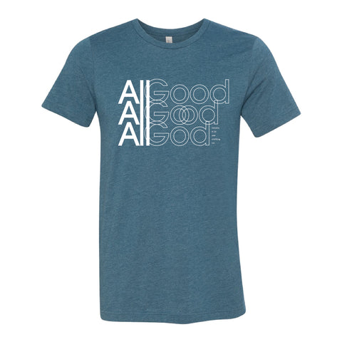 All Good All God (Unisex) Heather Deep Teal