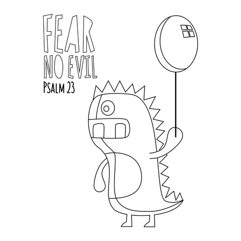 Fear No Evil Balloon