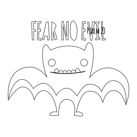 Fear No Evil Bat