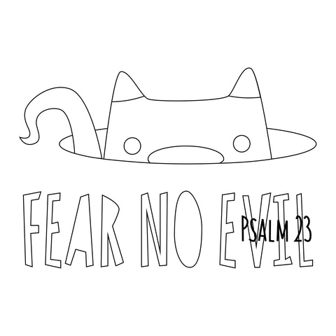 Fear No Evil Cat