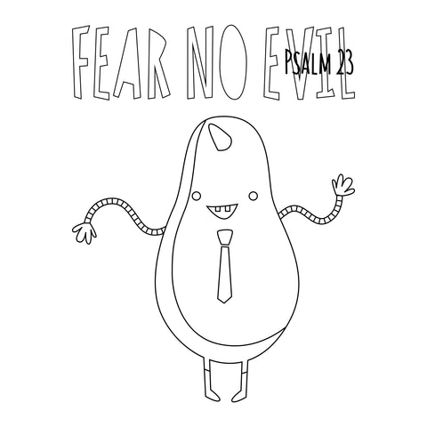 Fear No Evil Pear