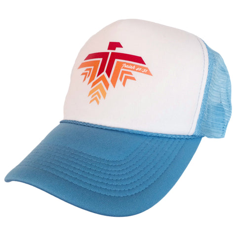 Eagle Hat Blue