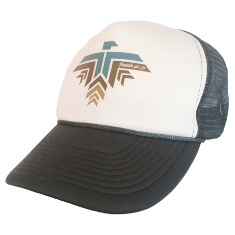 Eagle Hat Grey