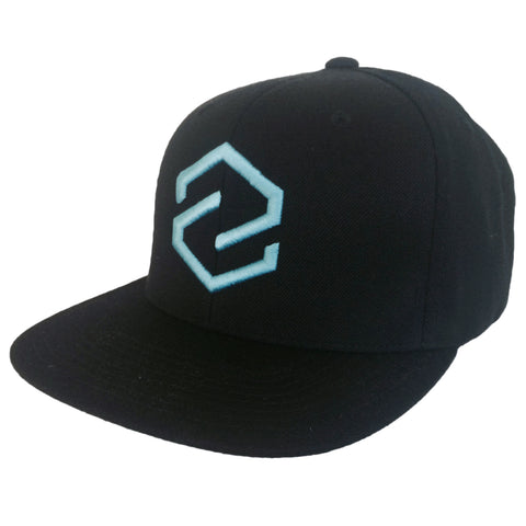Z Logo Black Snap Back