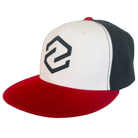 Z Logo Navy/Red Snap Back