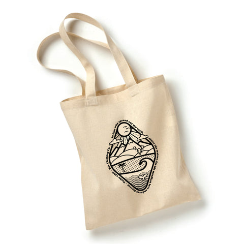 Psalm 136 Craft Tote Bag