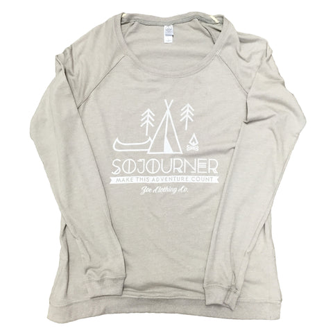 Sojourner Locker Room Eco-Jersey Pullover Nickel