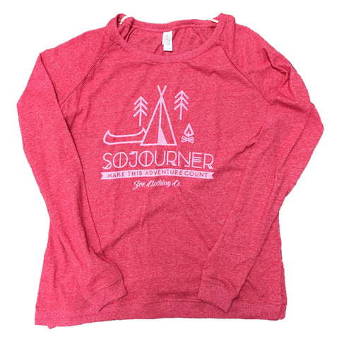 Sojourner Locker Room Eco-Jersey Pullover Red