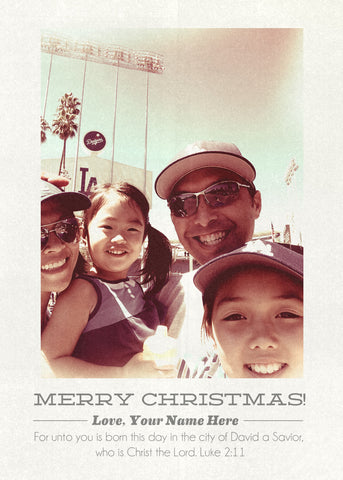 Retromatic Christmas (Go Dodgers!)