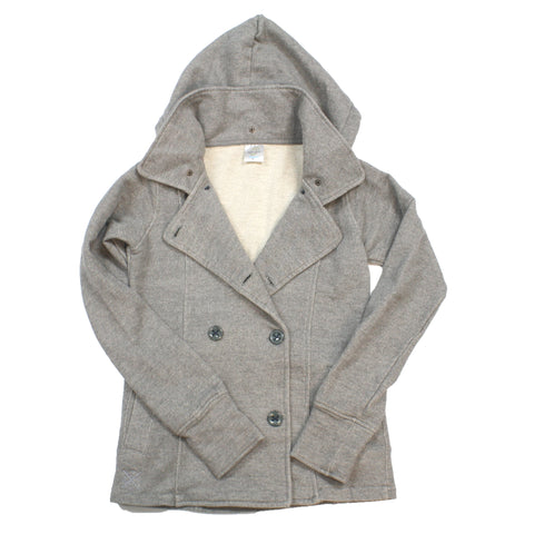 Pea Coat (Ladies) Gunmetal Heather