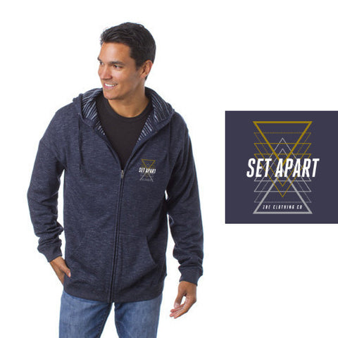 Set Apart Zippered Baja Hoody