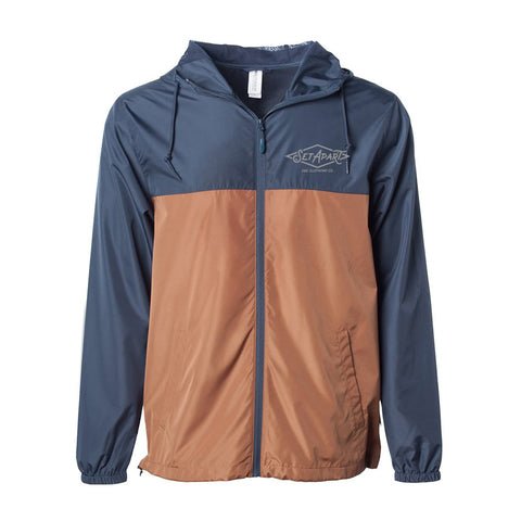 Windbreaker Navy/Orange