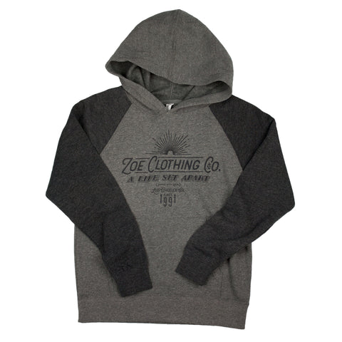 Raglan Hoody (Toddler & Youth) Nickel
