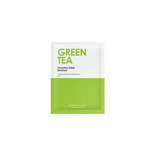 Everyday Mask (1 Sheet) BOOMDEAHDAH Green Tea  ?id=11975341375567