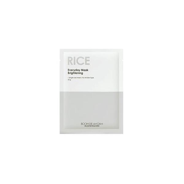 Everyday Mask (1 Sheet) BOOMDEAHDAH Rice  ?id=11975341867087