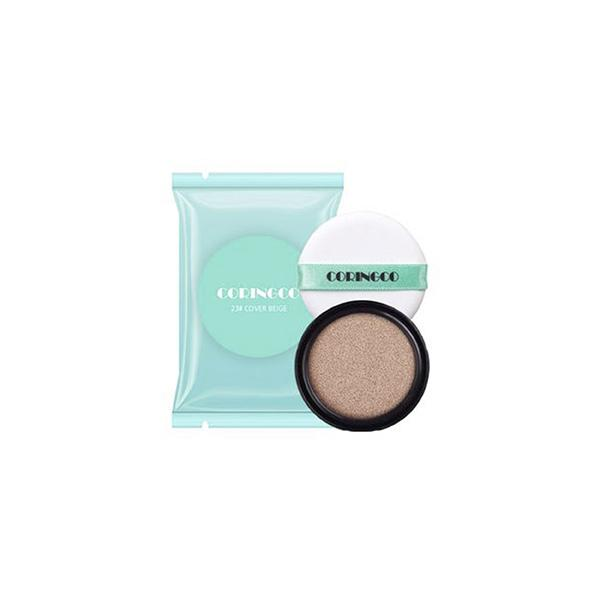 Mint Blossom Cover BB Cushion (15g) CORINGCO 23 Cover Beige + Refill