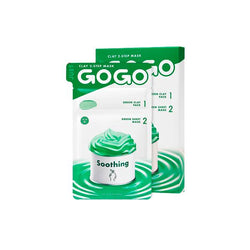 Just Go Go Clay 2-Step Mask Soothing (1 Sheet)