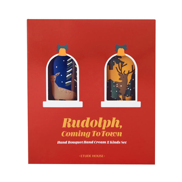 [Christmas Collection 2019] Rudolph Coming To Town Hand Bouquet Hand Cream Set