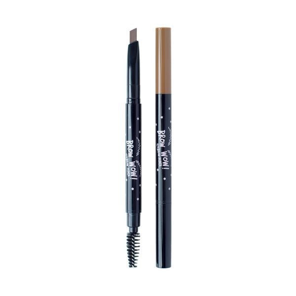 Brow Wow Eyebrow Pencil (0.18g) A'BLOOM 03 Soft Brown