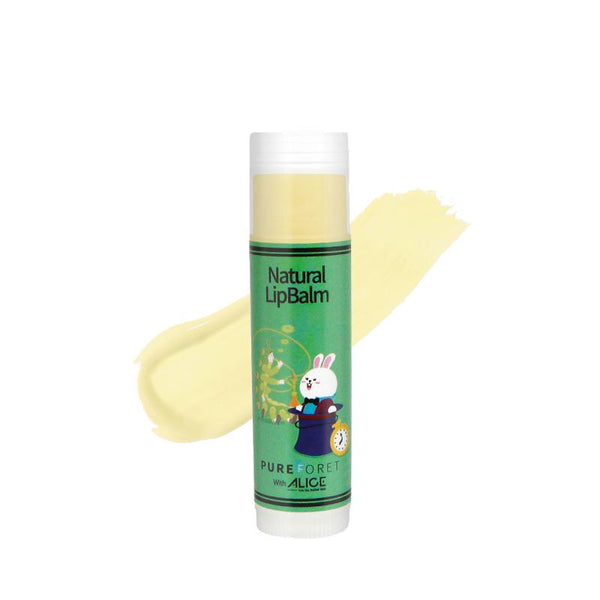 Natural Lip Balm with Alice (4.8g)_Colorless PUREFORET