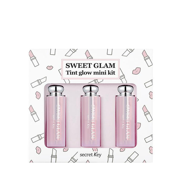 Sweet Glam Tint Glow Mini Kit (4.8g)