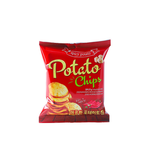 Spicy Potato Chips (27g)