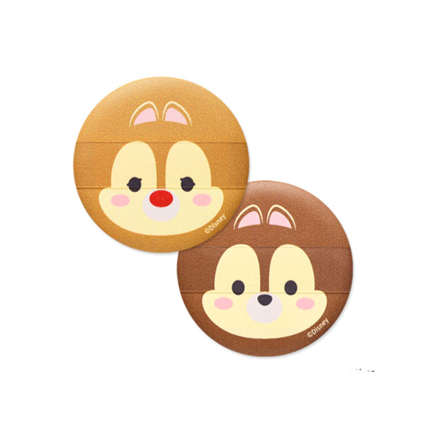 TSUM TSUM Cushion Puff Chip & Dale (1set)