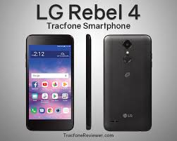 Prepaid Simple Mobile LG Rebel 4