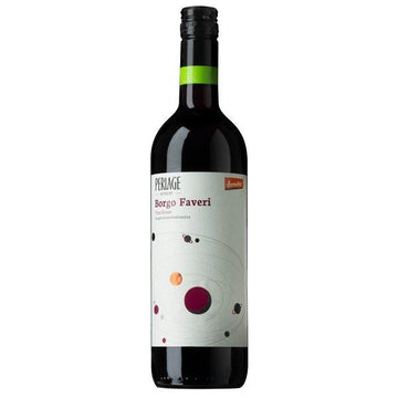 Perlage Borgo Faveri Rosso 75 cl 12.0% Alcohol. Organic, Biodynamic and Demeter certified.