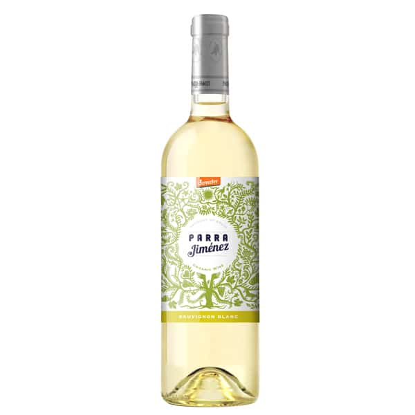 Parra Jimenez Sauvignon Blanc DO White Wine 75cl 12% - Organic, Biodynamic and Demeter Certified brought to you by TheBiodynamic.store
