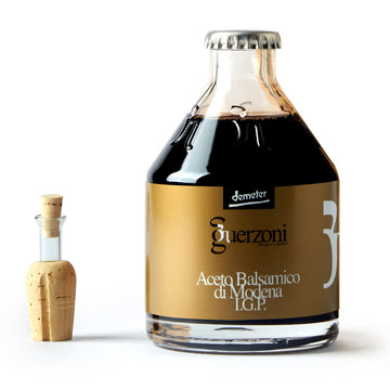 Guerzoni Balsamic Vinegar Of Modena IGP Quality Gold - Organic, Biodynamic and Demeter Certified