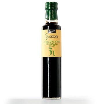 IGP Balsamic Vinegar Of Modena Green Top - Organic, Biodynamic and Demeter Certified