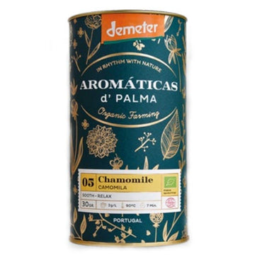 Aromaticas D'Palma Chamomile Infusion - Organic, Biodynamic and Demeter Certified