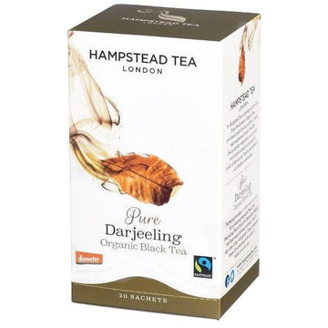 Hampstead Tea Darjeeling Tea Bags - Organic, Biodynamic and Demeter Certified