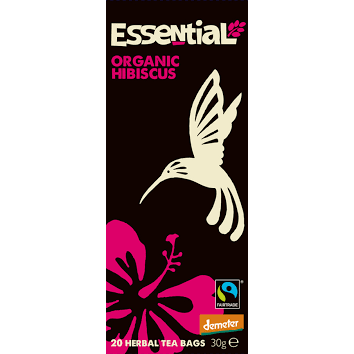 Essential Trading Hibiscus Tea. Organic,Biodynamic and Demeter certified.
