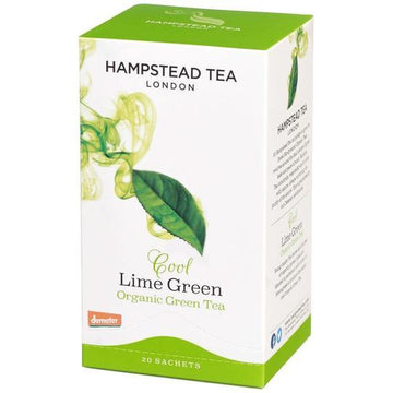 Hampstead Tea Cool Lime Green Tea - Organic, Biodynamic and Demeter Certified