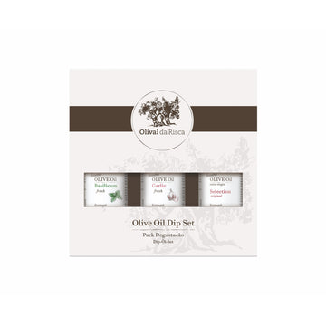 Olival Da Risca 3 Pack Olive Oil Dip Set - Organic, Biodynamic and Demeter Certified